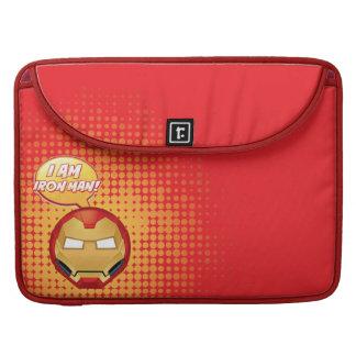 """I Am Iron Man"" Emoji MacBook Pro Sleeve"