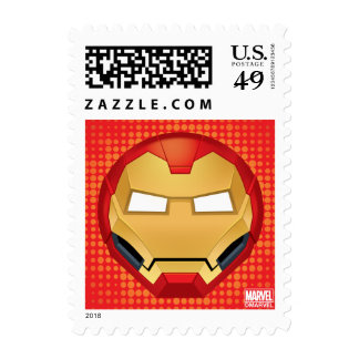 """I Am Iron Man"" Emoji Postage"