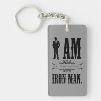 I Am Iron Man Keychain