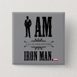 I Am Iron Man Pinback Button