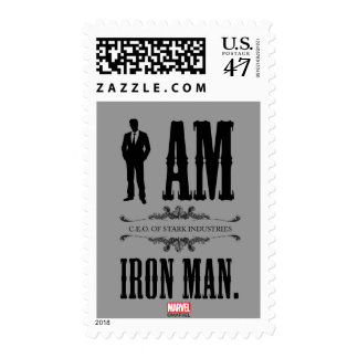 I Am Iron Man Postage