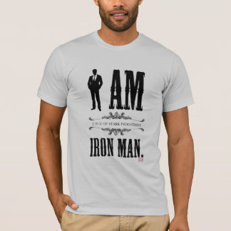 I Am Iron Man T-Shirt