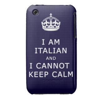 i am italian and i cannot keep calm Case-Mate iPhone 3 cases