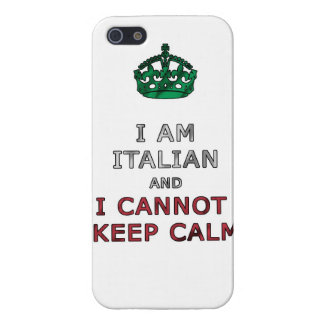 i am italian and i cannot keep calm funny phone cover for iPhone SE/5/5s