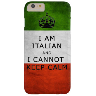 i am italian and i cannot keep calm phone case barely there iPhone 6 plus case
