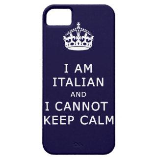 i am italian and i cannot keep calm phone case iPhone 5 covers