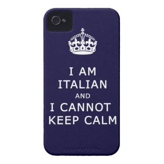 i am italian and i cannot keep calm phone case iPhone 4 cover