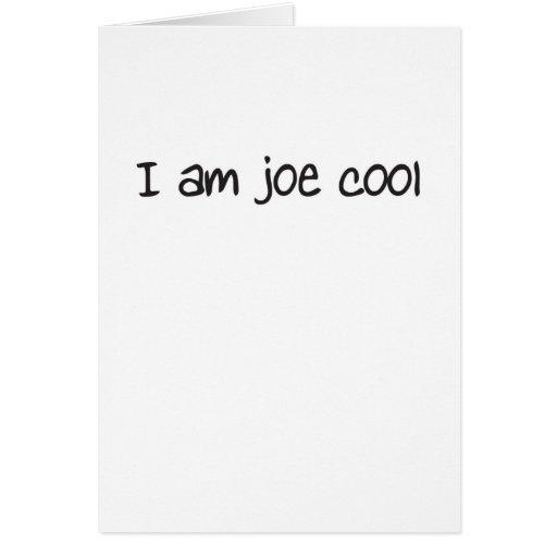 I am joe cool cards