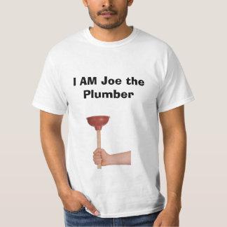 I AM Joe the Plumber Shirt