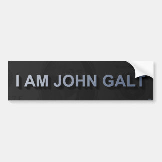 I Am John Galt Bumper Sticker