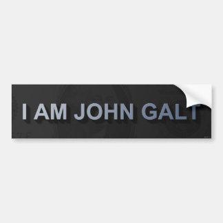 I Am John Galt Car Bumper Sticker