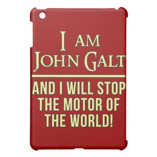 I Am John Galt iPad Mini Cover