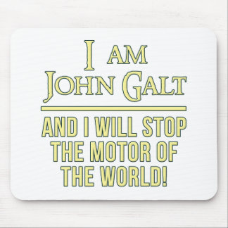 I Am John Galt Mouse Pad