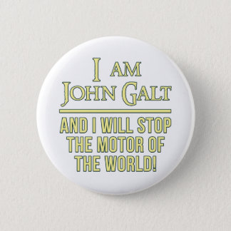 I Am John Galt Pinback Button