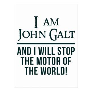 I Am John Galt Postcard