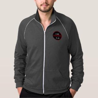 I Am Kaizen American Apparel Fleece Track Jacket