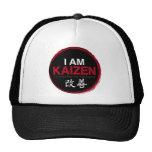 I Am Kaizen Logo - Continuous Improvement Trucker Hat