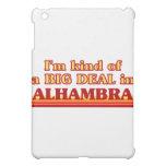 I am kind of a BIG DEAL in Alhambra iPad Mini Covers