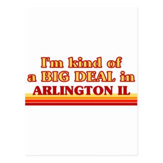 I am kind of a BIG DEAL in Arlington Postcard
