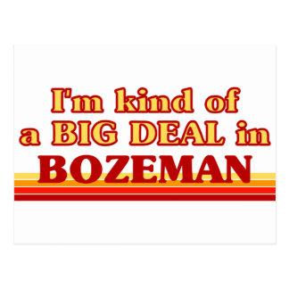 I am kind of a BIG DEAL in Bozeman Postcard