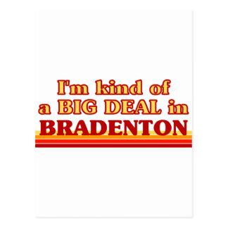 I am kind of a BIG DEAL in Bradenton Postcard