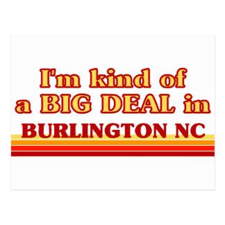 I am kind of a BIG DEAL in Burlington Postcard