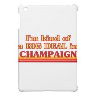 I am kind of a BIG DEAL in Champaign iPad Mini Cover