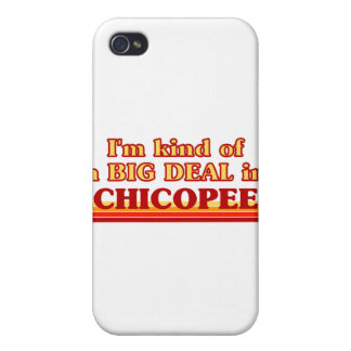 I am kind of a BIG DEAL in Chicopee iPhone 4 Cover