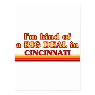 I am kind of a BIG DEAL in Cincinnati Postcard