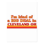 I am kind of a BIG DEAL in Cleveland Postcard