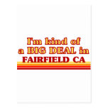 I am kind of a BIG DEAL in Fairfield Postcard