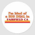 I am kind of a BIG DEAL in Fairfield Stickers