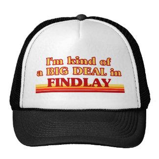 I am kind of a BIG DEAL in Findlay Hats
