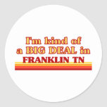 I am kind of a BIG DEAL in Franklin Stickers