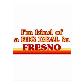 I am kind of a BIG DEAL in Fresno Postcard