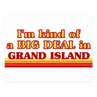 I am kind of a BIG DEAL in Grand Island Postcard