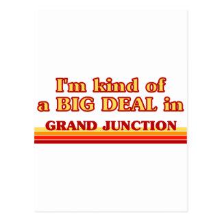 I am kind of a BIG DEAL in Grand Junction Postcard