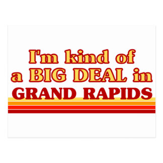 I am kind of a BIG DEAL in Grand Rapids Postcard