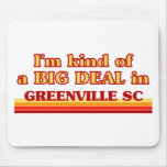 I am kind of a BIG DEAL in Greenville Mouse Pad