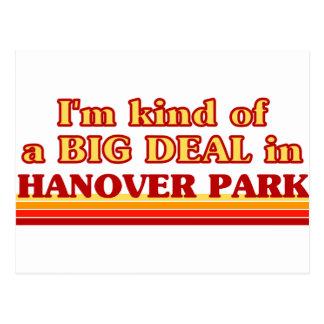 I am kind of a BIG DEAL in Hanover Park Postcards