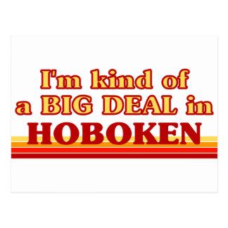 I am kind of a BIG DEAL in Hoboken Postcard