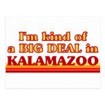 I am kind of a BIG DEAL in Kalamazoo Post Card