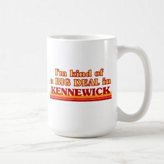 I am kind of a BIG DEAL in Kennewick Classic White Coffee Mug