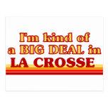 I am kind of a BIG DEAL in La Crosse Postcard