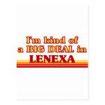 I am kind of a BIG Deal in Lenexa Postcard