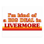 I am kind of a BIG DEAL in Livermore Postcard