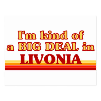 I am kind of a BIG DEAL in Livonia Postcard