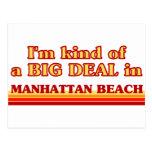 I am kind of a BIG DEAL in Manhattan Beach Postcards