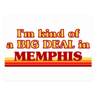 I am kind of a BIG DEAL in Memphis Postcard