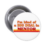 I am kind of a BIG DEAL in Mentor Pinback Buttons